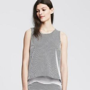 Banana Republic Women's Bonded Lace Tank Blouse